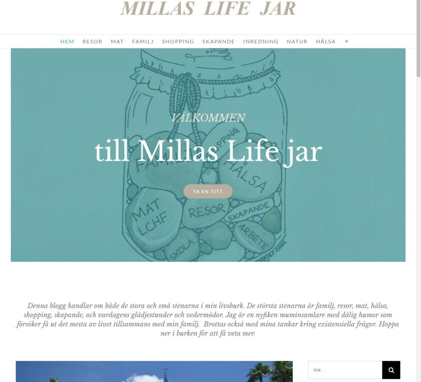 Millas Lifejar