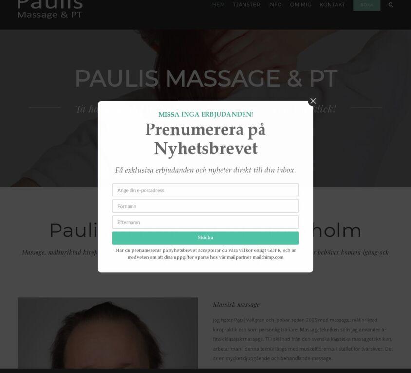 Paulis Massage