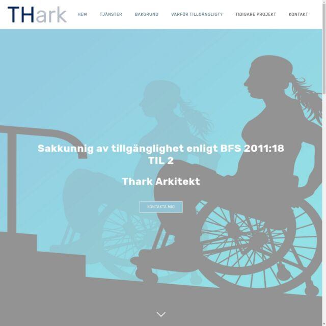 Thark.nu en hemsida för sakkunnig av tillgänglighet