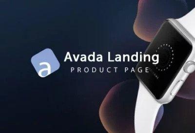 Landing demo för en produkt