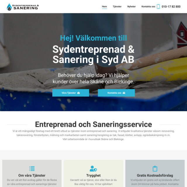 Sydentreprenad & Sanering