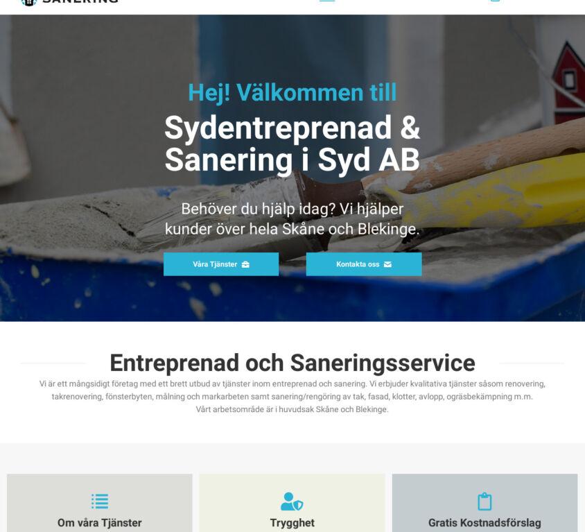 Sydentreprenad & Sanering i Syd AB