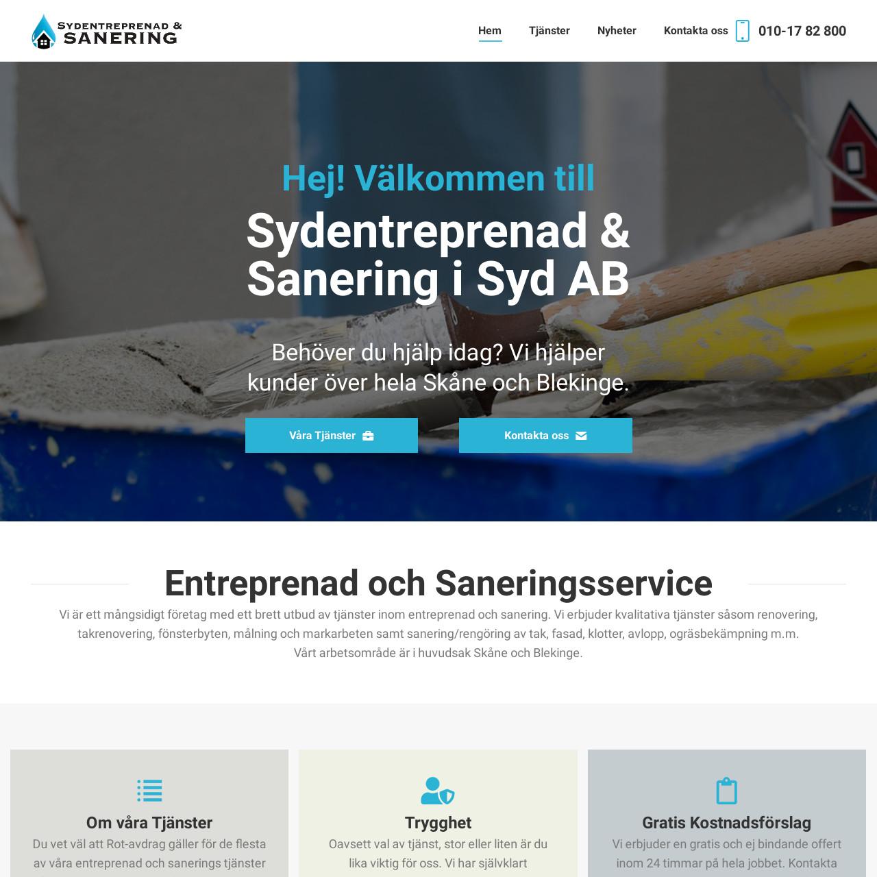 Sydentreprenad & Sanering i Syd AB 1