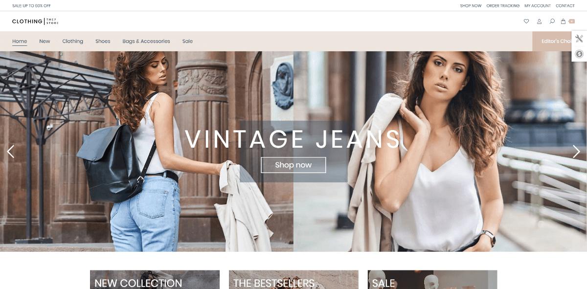 Webbutik kläder
