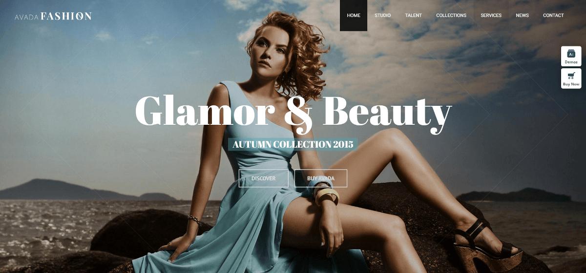 Fashion hemsida