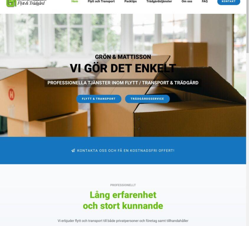 Grön&Mattisson Flytt&Trädgård