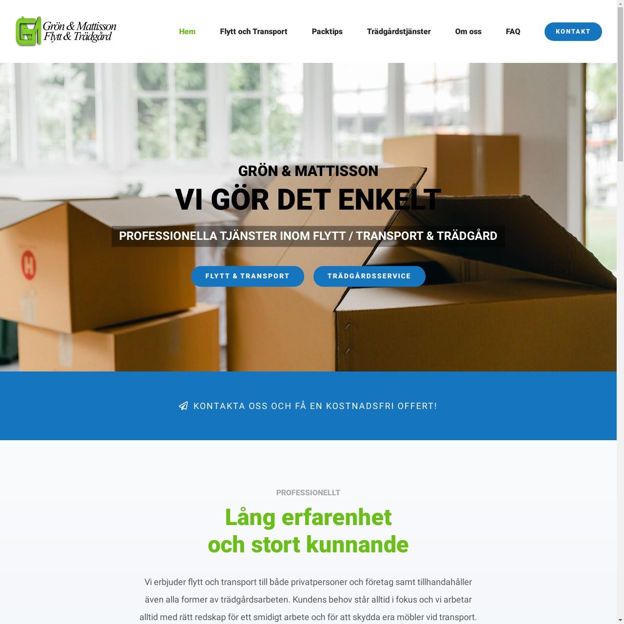 Grön&Mattisson Flytt&Trädgård 1
