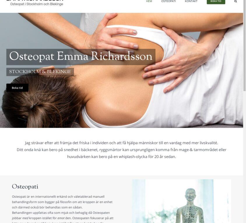 Osteopat Emma
